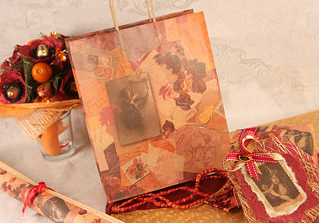COMPANY NEWS. Materialization of feelings in gift wrapping. Kraft paper and products from it.